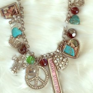 Boutique Obsessive Shopper Necklace